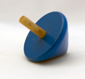 BA7692 - Holzkreisel blau