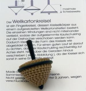 B133 - Wellkarton mit Holzstiel