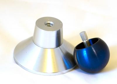 KV116 - Alu-Stehauf- / Wende- Umkehrkreisel blau