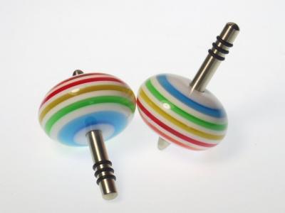 B565 - Perlkreisel Regenbogen