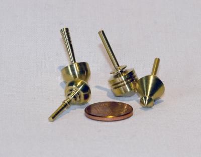 B686 - Messing Minikreisel XS