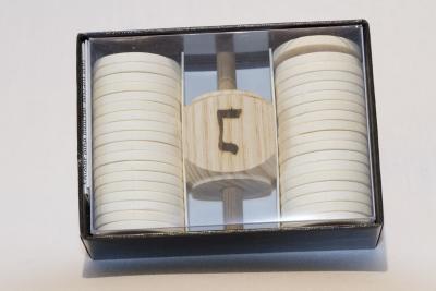 M303 - Trendlspiel/Dreidelspiel hebräisch