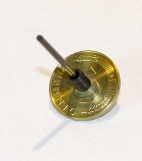 B629_1 - Münzkreisel 10 Pfennig (Groschenkreisel)