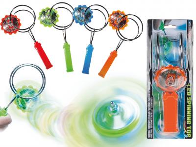 OB2111 - Magnet-Wurf-Kreisel mit LED II.Wahl