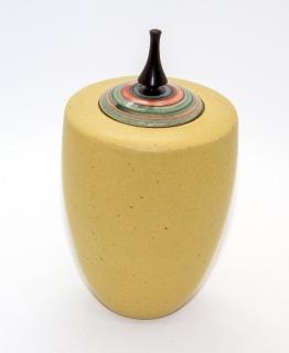 HKC02 - Keramik - Kreiseldose