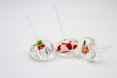 G141 -  Glaskreisel Blume