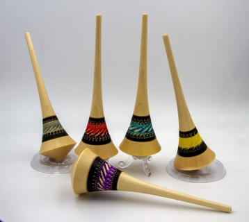 PA036 - Two-handed spinning top maple