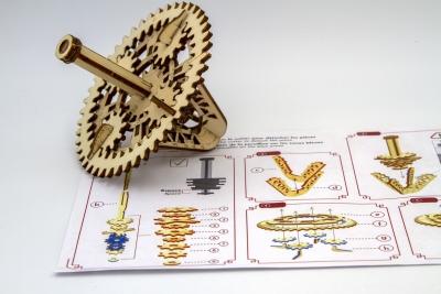 KT843129 - Spinning top construction kit II