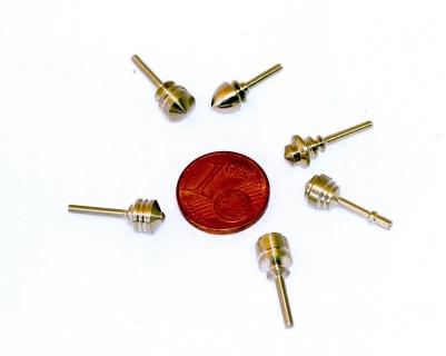 B162 - Metall- Kreisel mini Neusilber GR1