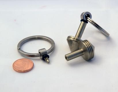 B177 - Schlüsselanhänger mit abnehmbarem Kreisel