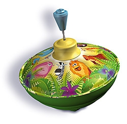 BO52540 - Jungle Animals Hum Spinning Top