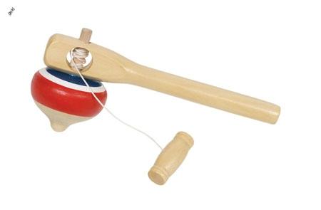 HGGK804 - Abziehkreisel aus Holz,