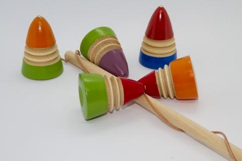 LI0504 - Peitschenkreisel - farbig