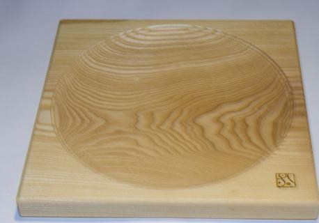 M9063 - gr.Kreiselplatte Esche natur