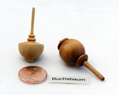 KK119 - Mini-Edelholzkreisel Buchsbaum