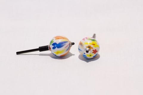 B606 - Perlkreisel Blumen