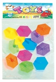 KU10809 - Mini Hexagon Kreisel Set