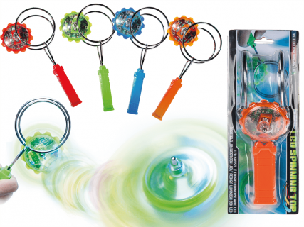 OB2111 - Magnet-Wurf-Kreisel mit LED