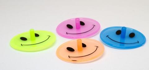 EU3885 - Smile-Kreisel neon