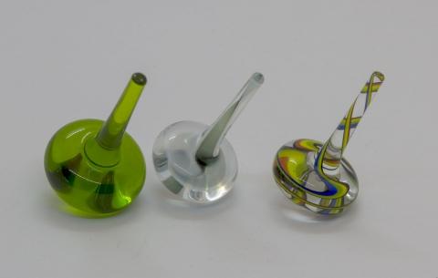 BZS2 - verschiedene Glaskreisel