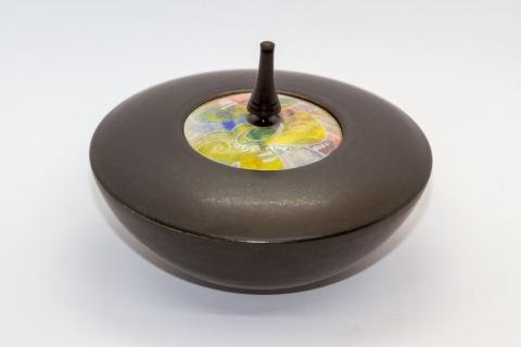 HKC04 - Keramik - Kreiseldose