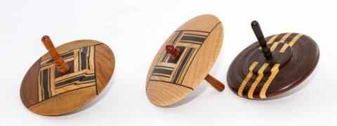 KK104 - Holzkreisel, stabverleimt, groß