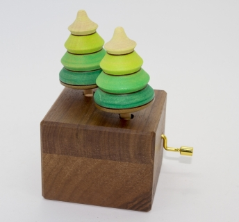 ML102 - Music box with forest