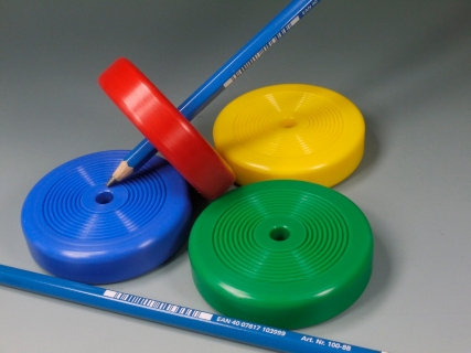 B573 - Pencil spinning top (painting spinning top)