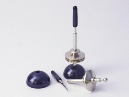 B834 - Mini pull-off spinning top Stelzy
