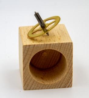 CO750371 - Kuckucks-Kreisel im Holzwürfel